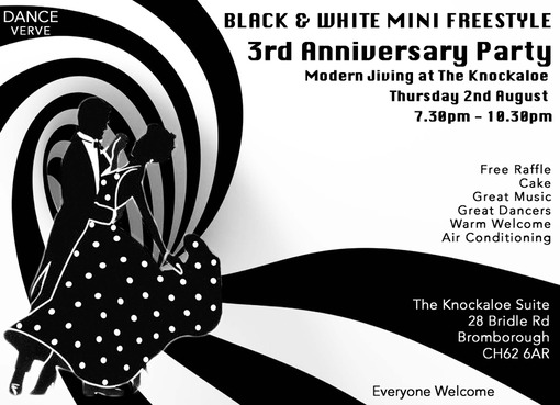 Black & White Anniversary Party 2018